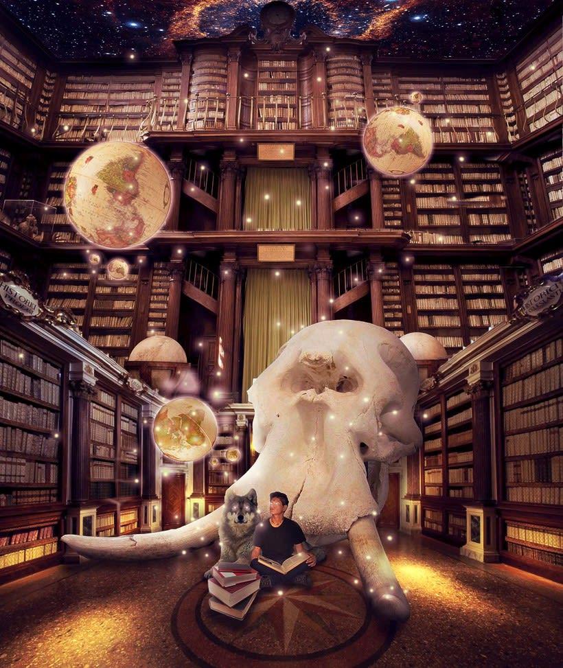 Biblioteca fantasia -1