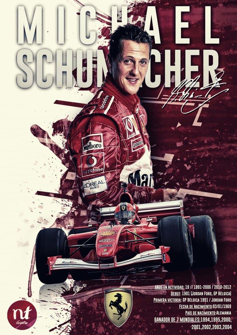 Poster Design Michael Schumacher -1