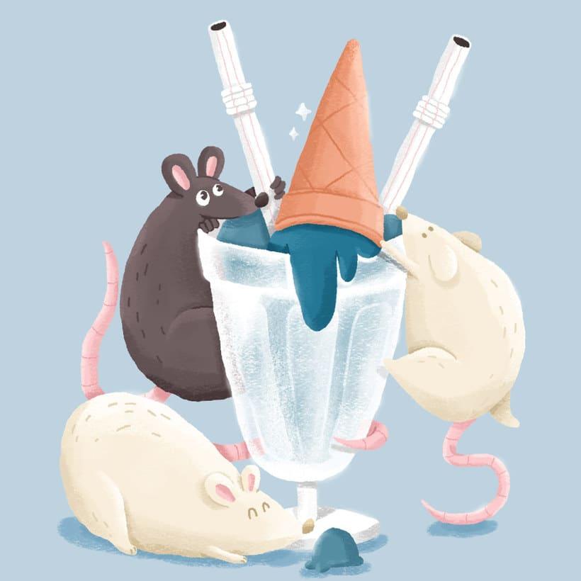 Colores pastel e ironía en las ilustraciones de Christian Pimentel 11