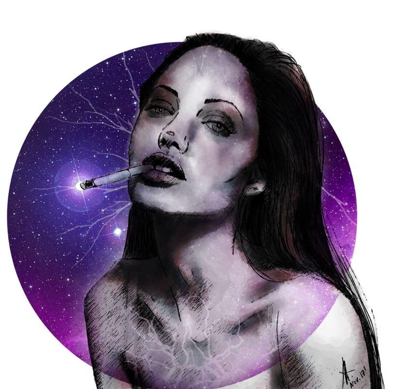 Mi Proyecto del curso: Retrato ilustrado con Photoshop 3