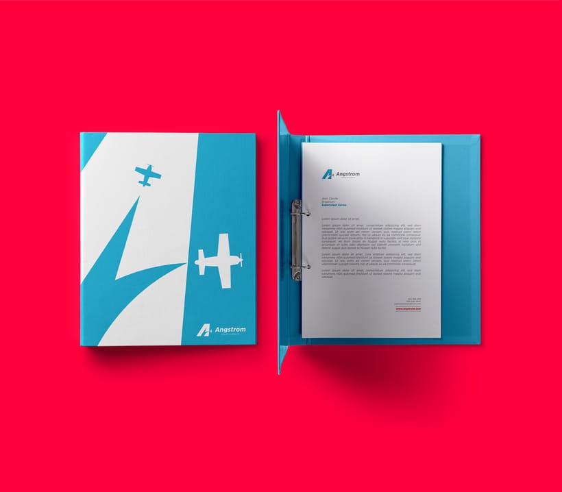 Angstrom - Aviones Acrobáticos (Brand Identity) 8