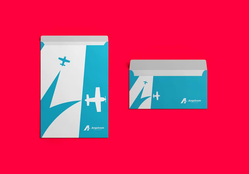Angstrom - Aviones Acrobáticos (Brand Identity) 7
