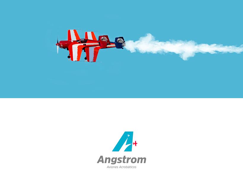 Angstrom - Aviones Acrobáticos (Brand Identity) 0