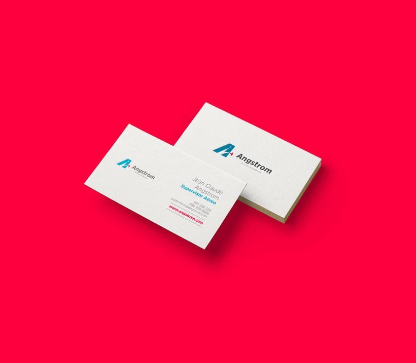 Angstrom - Aviones Acrobáticos (Brand Identity) 5