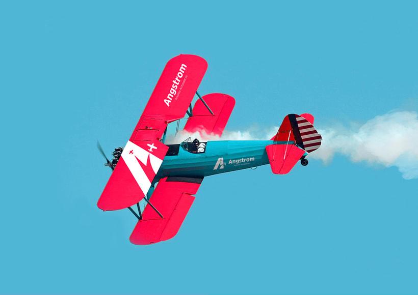 Angstrom - Aviones Acrobáticos (Brand Identity) 3