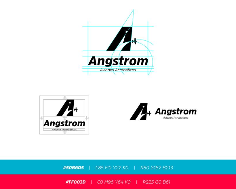 Angstrom - Aviones Acrobáticos (Brand Identity) 1