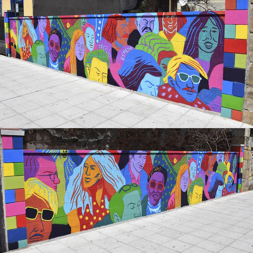Mural en Reinosa 5
