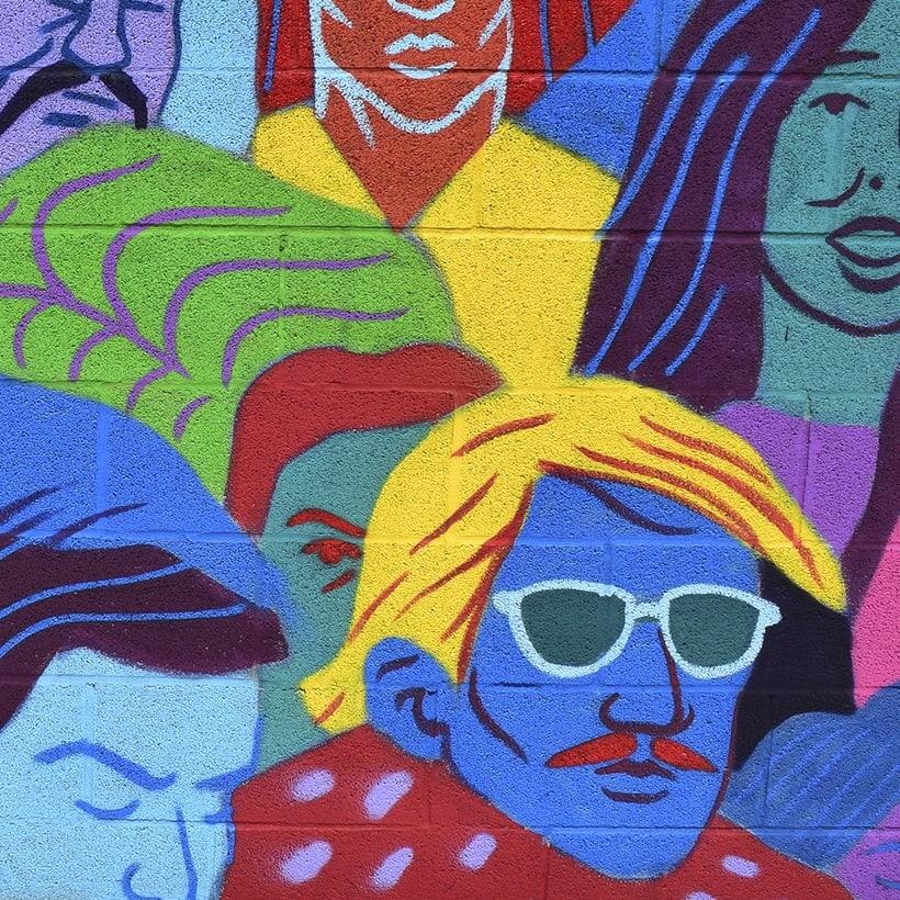 Mural en Reinosa 0