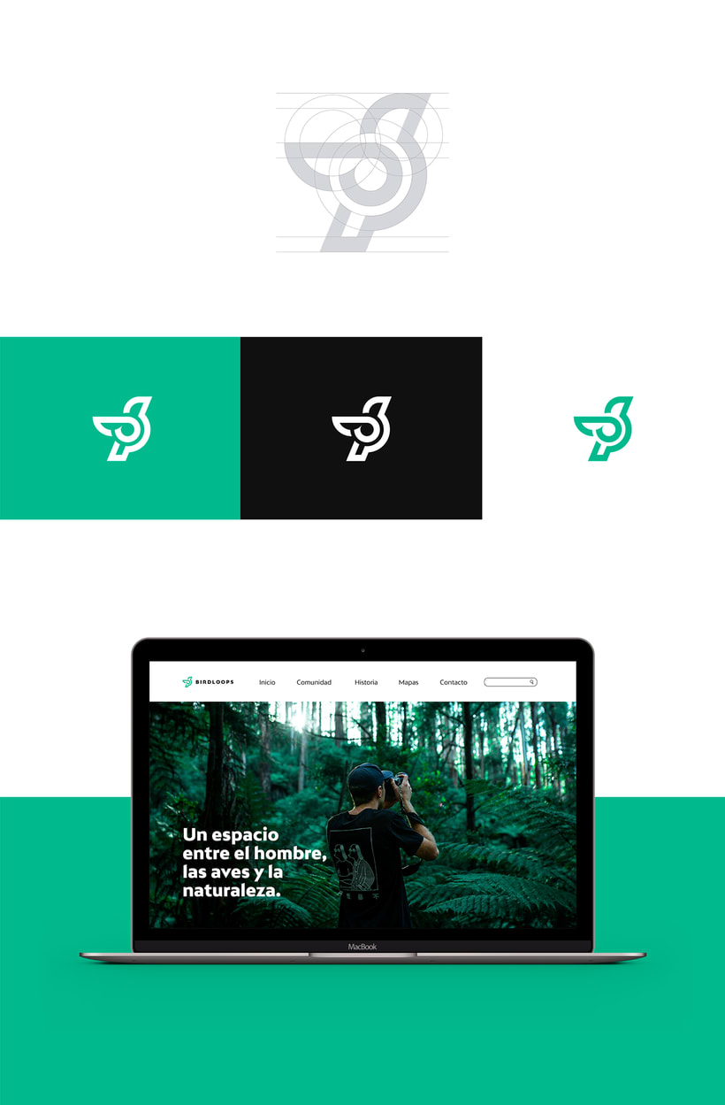 BIRDLOOPS ™ - Brand Identity 3