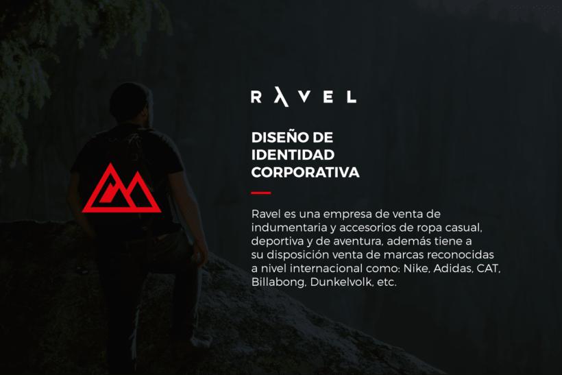 RAVEL - Brand Identity 0