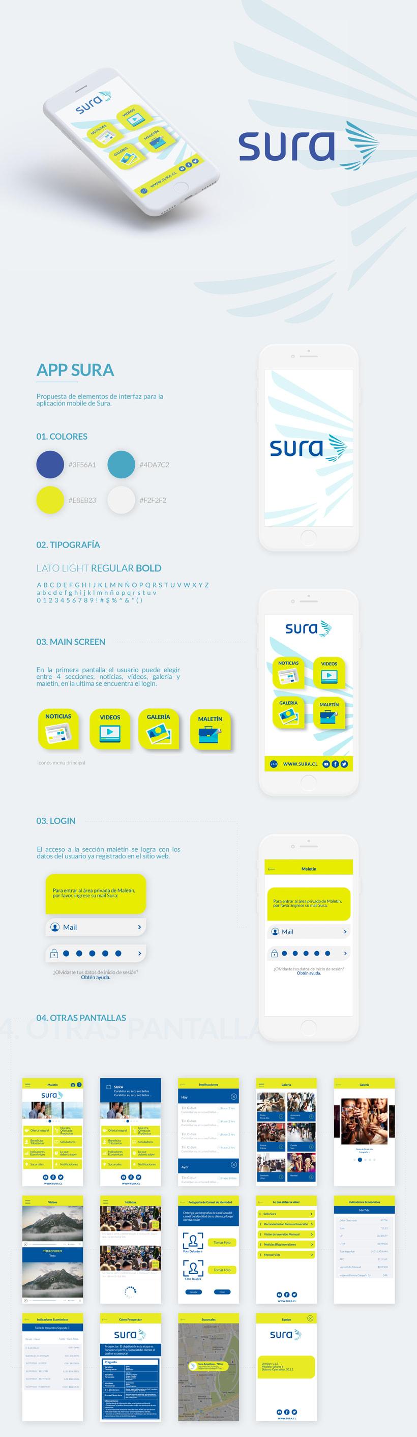 UX/UI Design App Sura -1