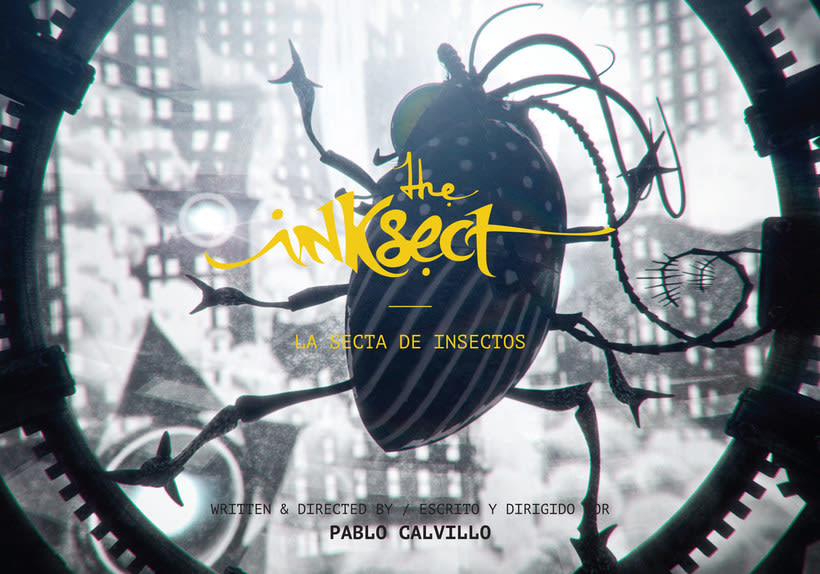 'The Inksect', la secta de insectos ilustrados 1