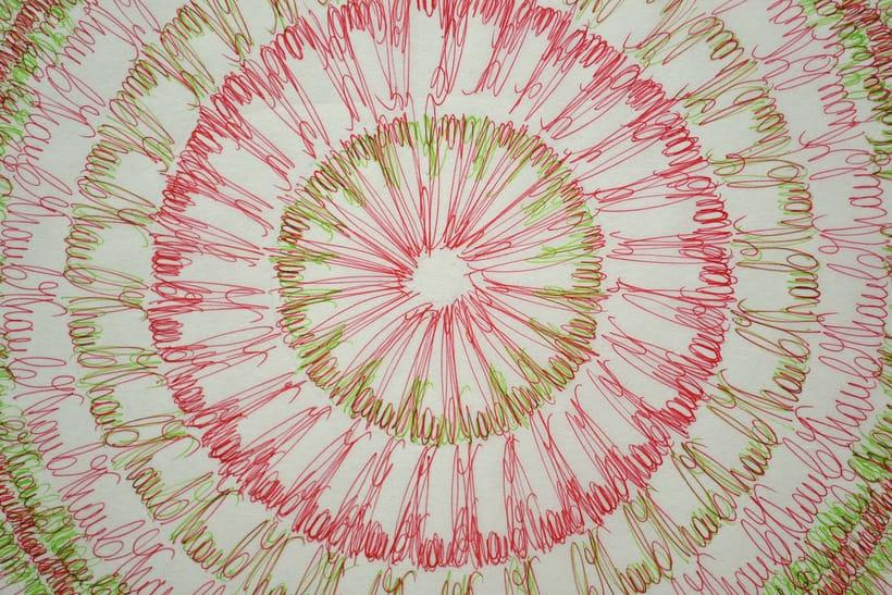 Dibujos, en Tinta sobre papel Japonés.  2