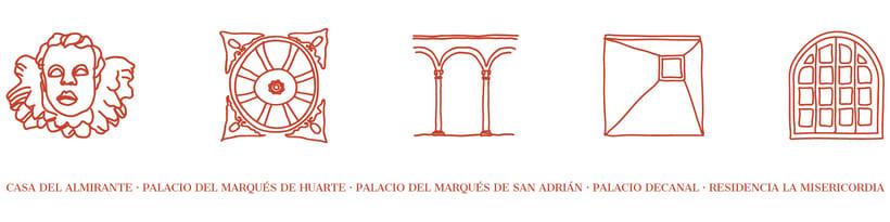 Identitat gràfica i material de difusió del festival Des-Adarve 6