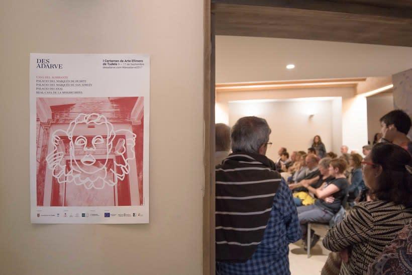 Identitat gràfica i material de difusió del festival Des-Adarve 17