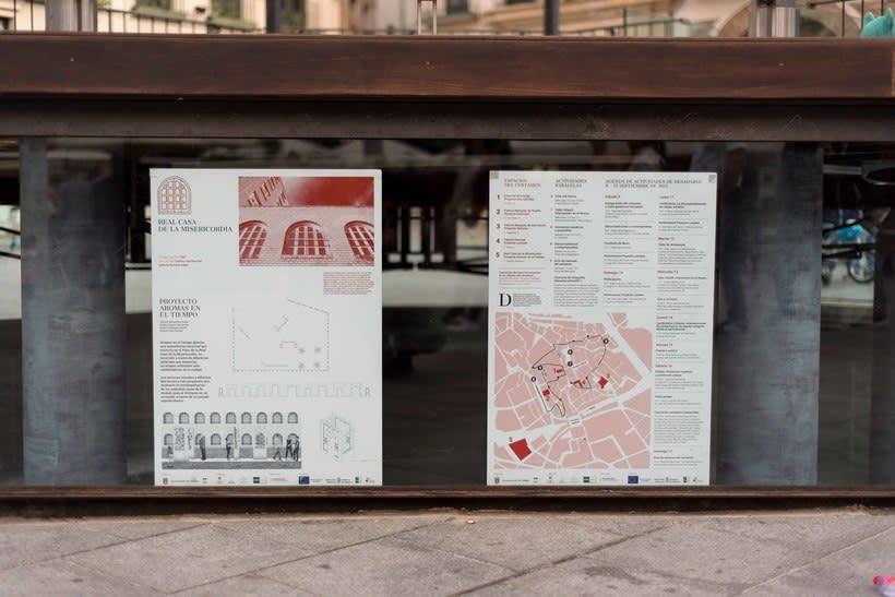 Identitat gràfica i material de difusió del festival Des-Adarve 18