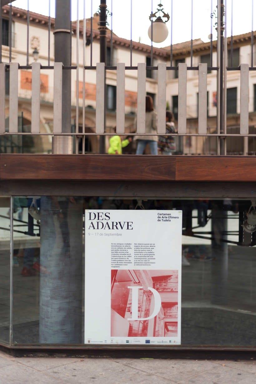 Identitat gràfica i material de difusió del festival Des-Adarve 19