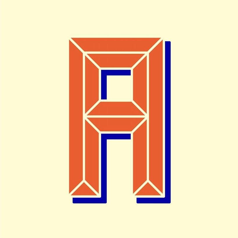 'A letter a day', el reto tipográfico de 365 días 15