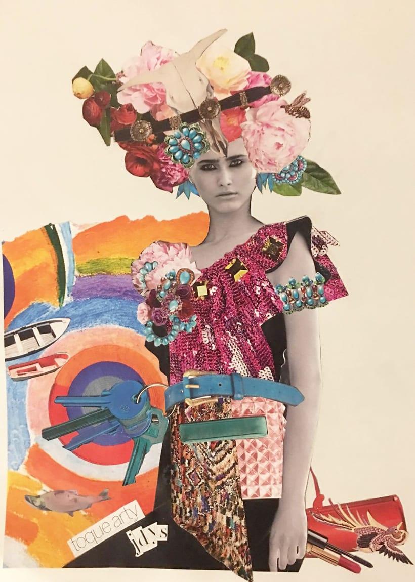 Mi Proyecto del curso: Sastrería de papel: Ilustrando con tijeras 3