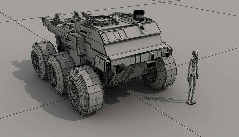 Rover Lunar Industries -1