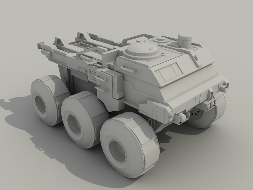 Rover Lunar Industries 0