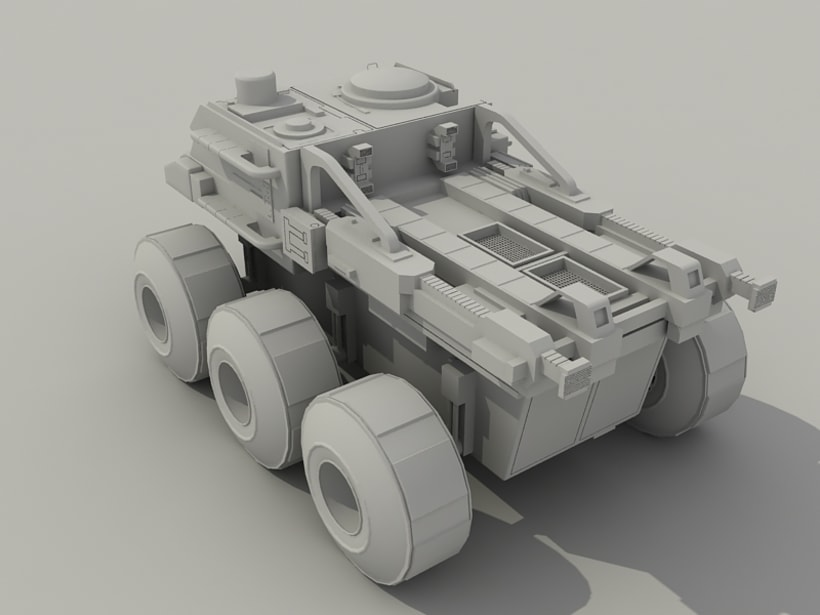 Rover Lunar Industries 1