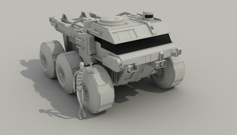 Rover Lunar Industries 3