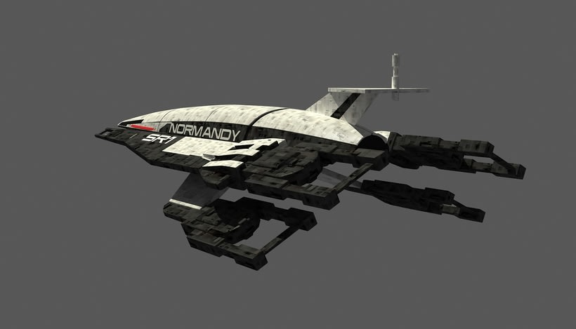 Normandy SR1 Mass Effect 3