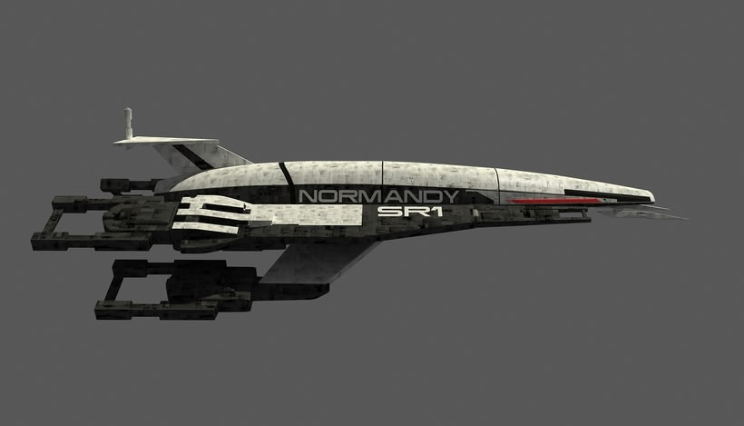 Normandy SR1 Mass Effect 4