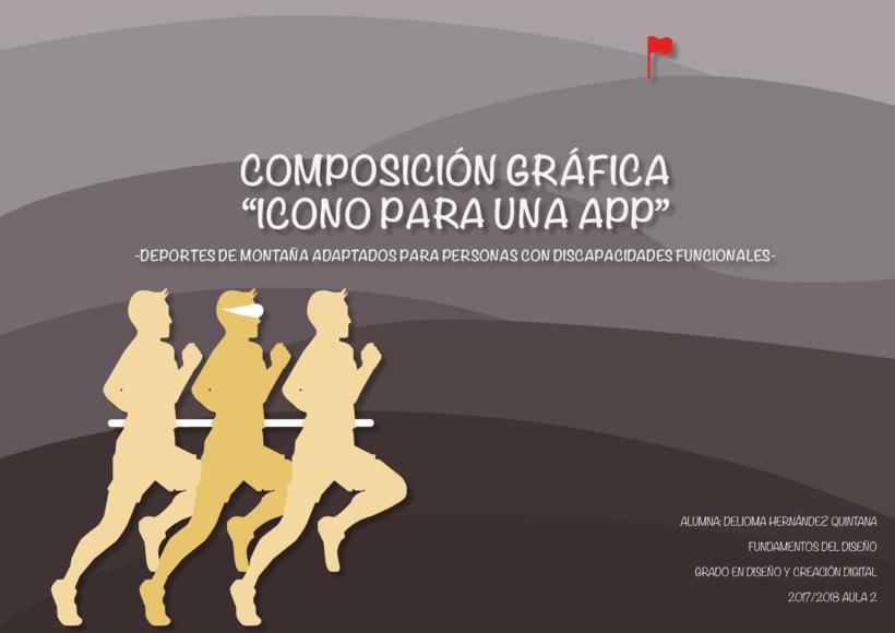 """Composición Gráfica """"Icono para una APP"""" -1"""