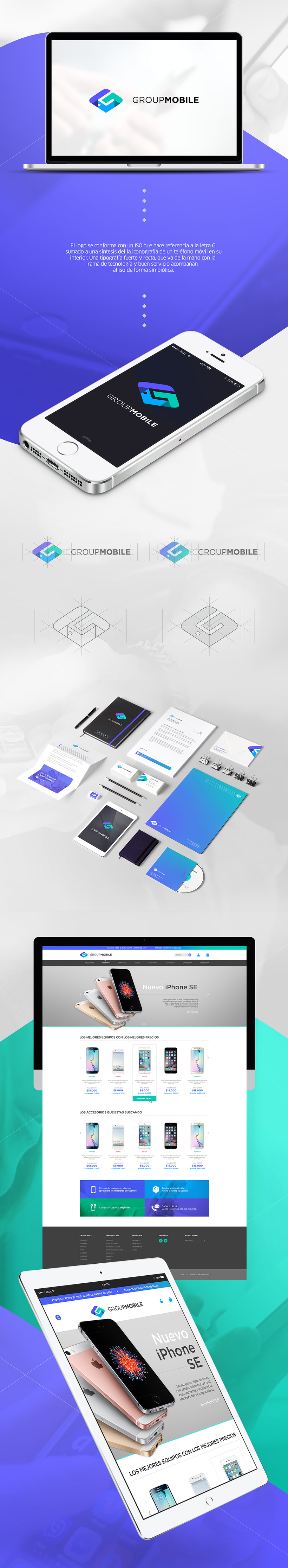 GROUP MOBILE - Branding & E Commerce -1