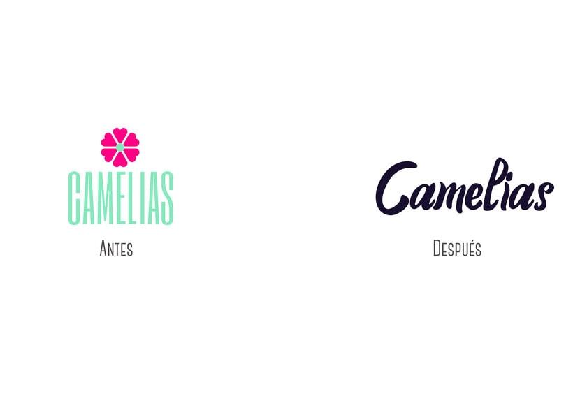 Camelias ReBrand 1