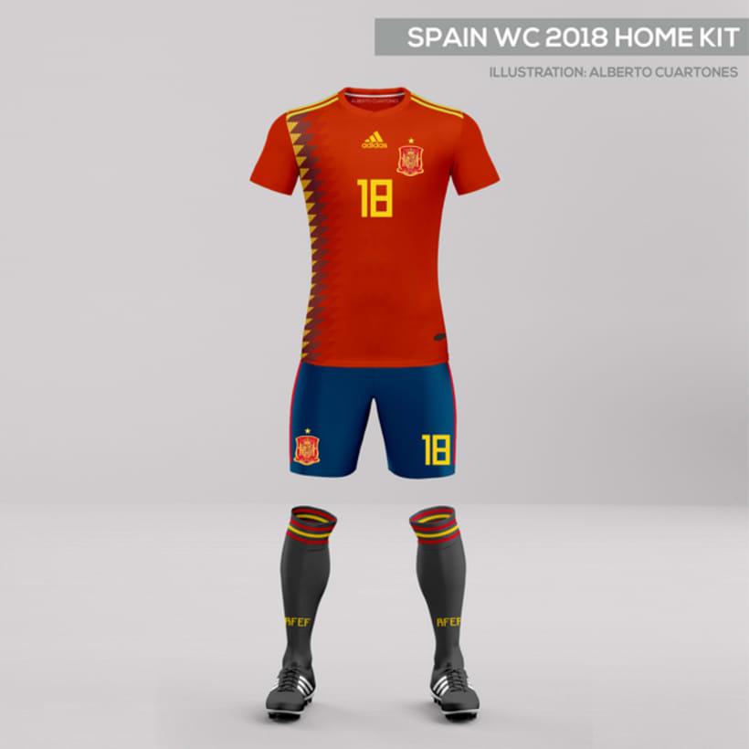 Equipaciones España Mundial 2018 3