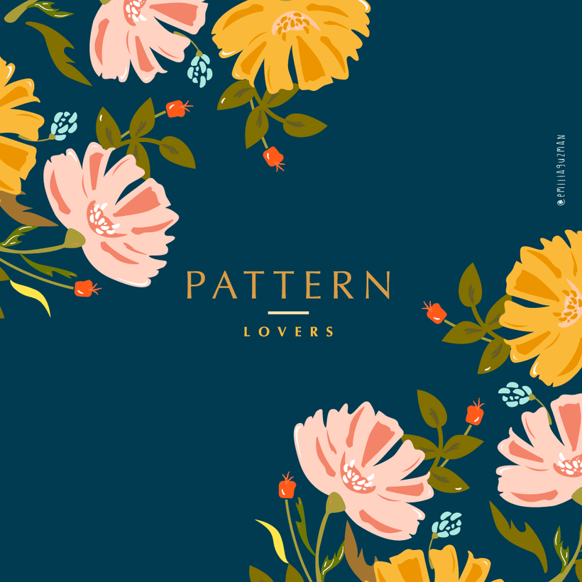 Love Pattern Flowers 3