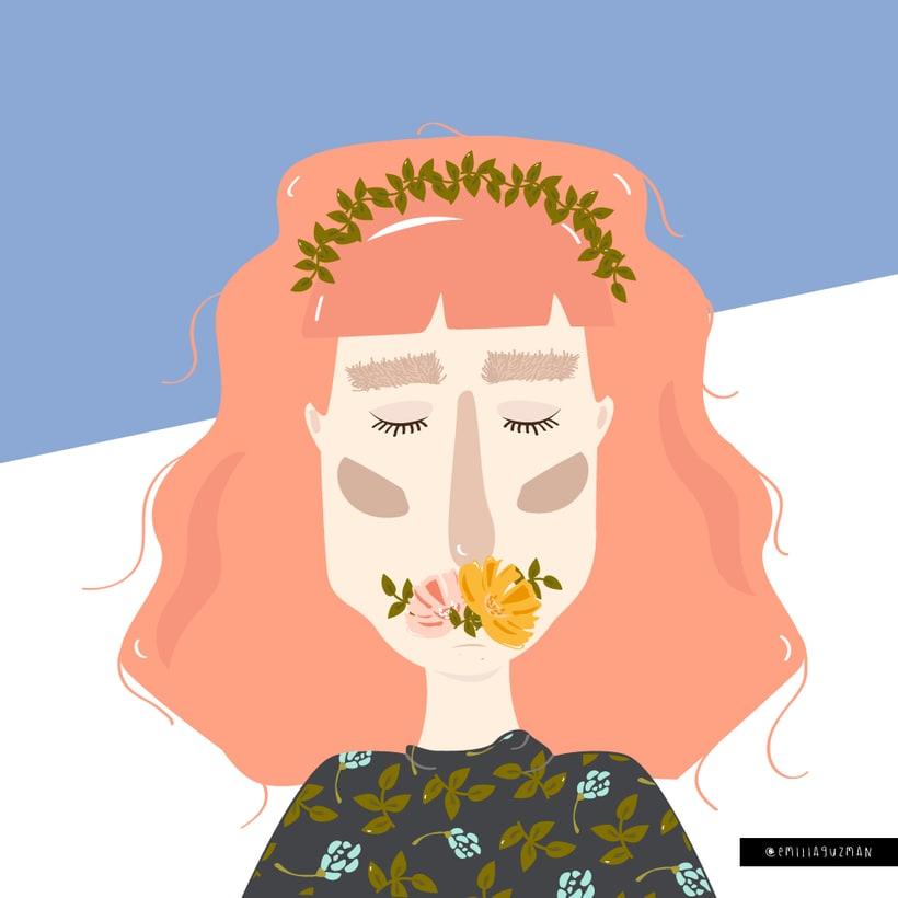 Ilustración Mujer  -1