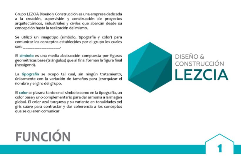 Diseño y Construcción LEZCIA 2