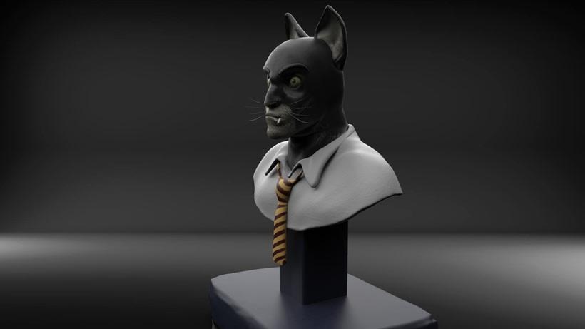 Mi Proyecto del curso: Modelado de personajes en 3D  3