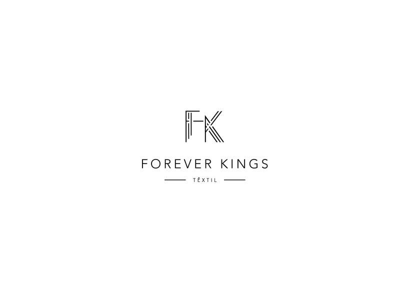Identidad Visual Forever Kings 0