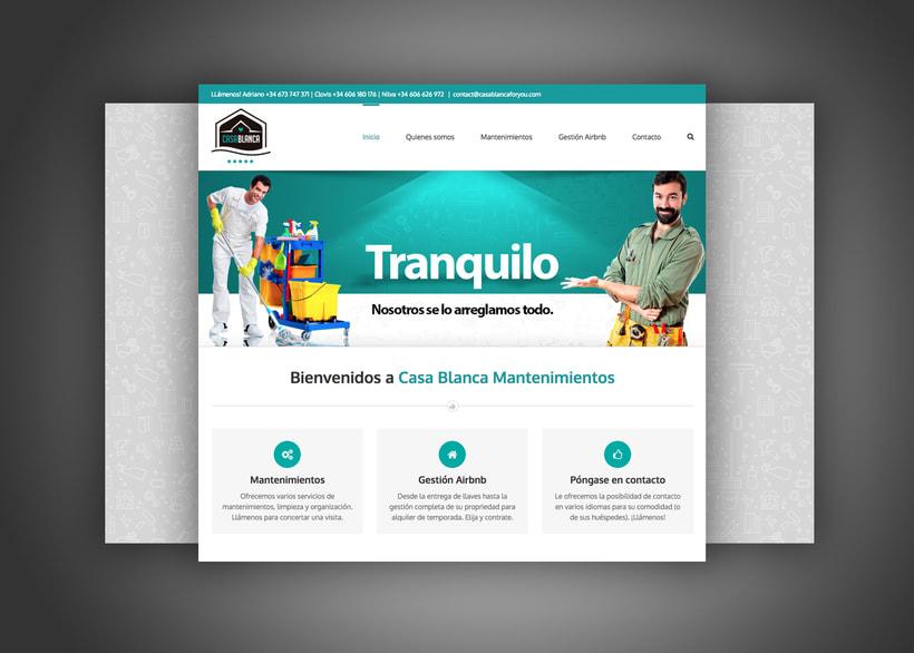 Identidad Visual y pagina web 2