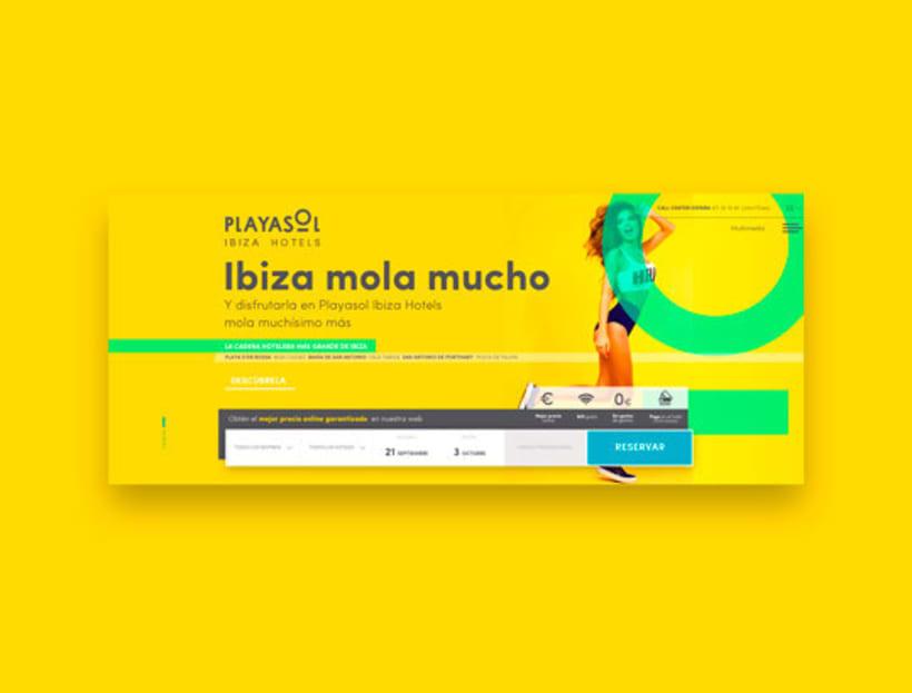 Web Playasol Ibiza Hotels  -1