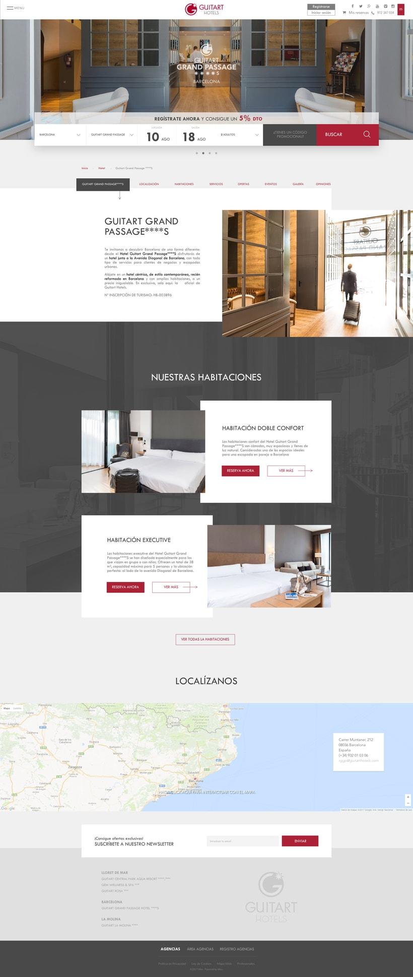 Microsite Guitart Hotels 1