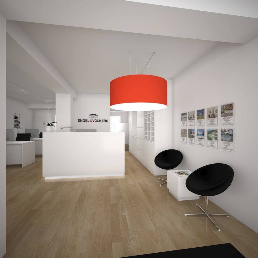 3D Oficinas Engel & Völkers 2