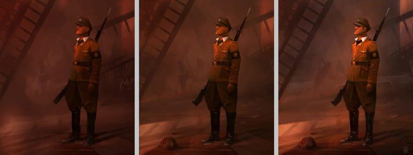 Creación personaje_soldado 0