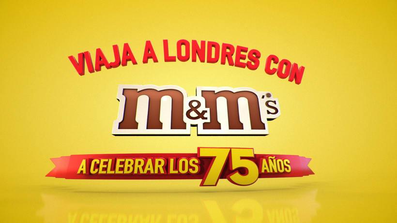 M&M CENTROAMÉRICA PROMO LONDRES 0