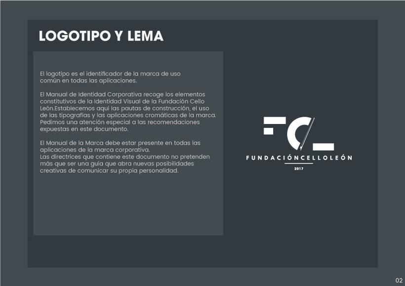 Branding Fundación CelloLeón 1
