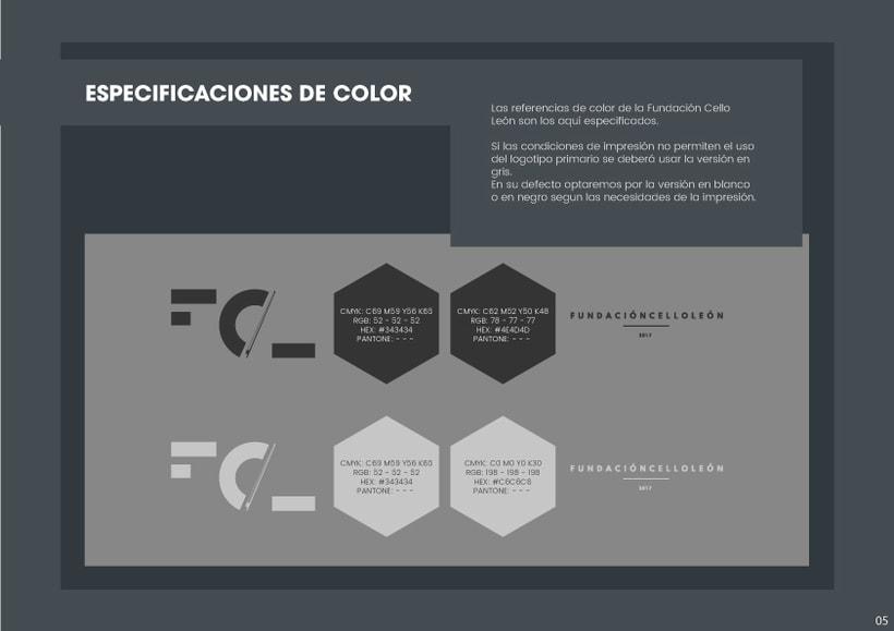 Branding Fundación CelloLeón 6