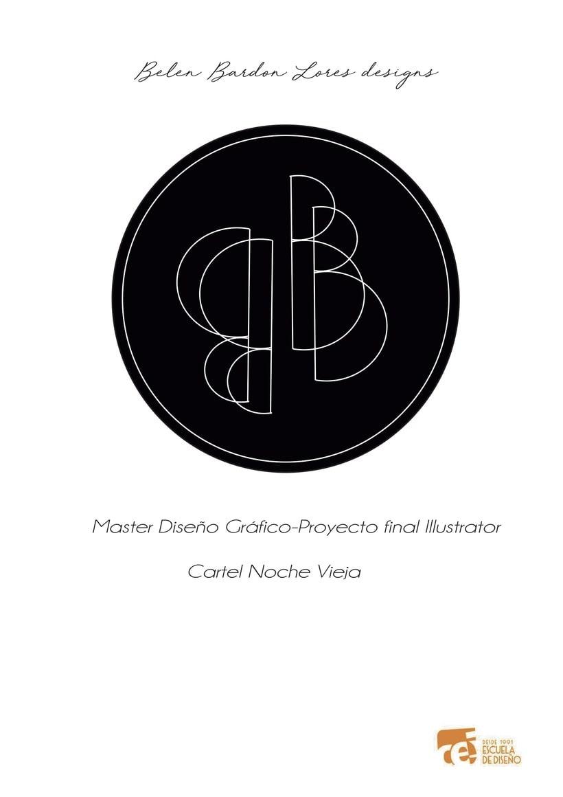 Cartel noche vieja Círculo de bellas artes -1