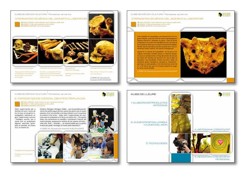 Actividades educativas: catálogo general -1