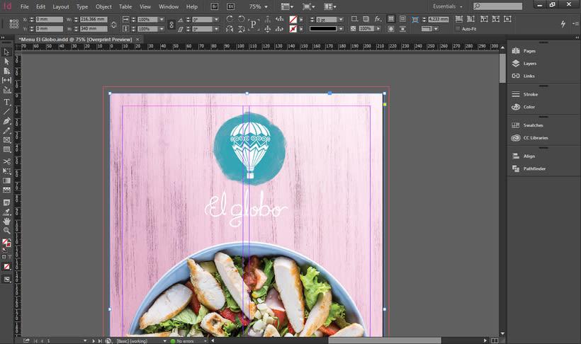 Carta de comidas / Restaurante-Taller El Globo 0