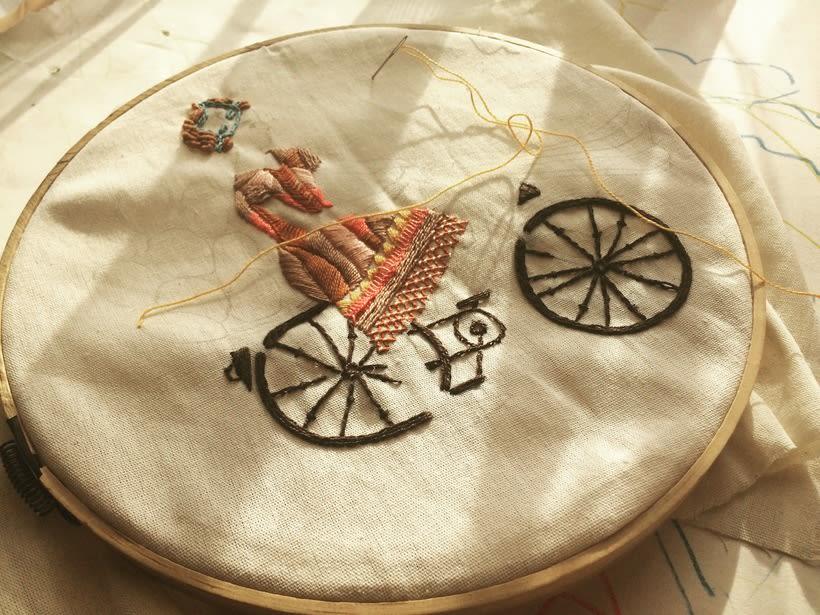 Mi Proyecto del curso: Técnicas de bordado: ilustrando con hilo y aguja 0